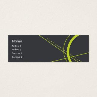 Geometry - Skinny Mini Business Card