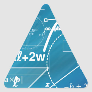 Geometry Triangle Sticker