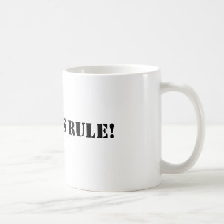 Geordies rule coffee mug