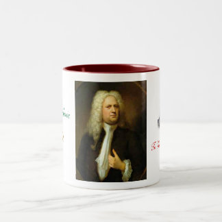 Georg Frideric Hndel Two-Tone Coffee Mug
