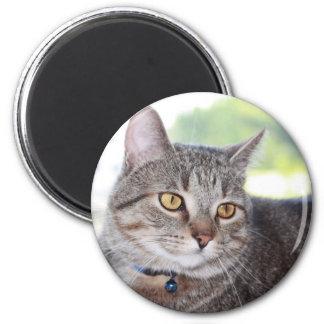 George 2 Inch Round Magnet