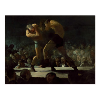 George Bellows Club Night The Art of Boxing Postcard