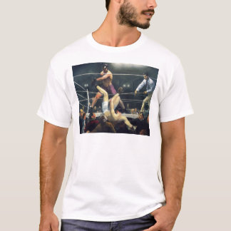 George Bellows Dempsey and Firpo Art of Boxing T-Shirt