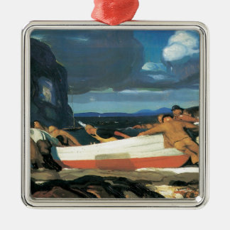 George Bellows The Big Dory Metal Ornament