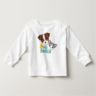 George, Bethie and Cutie Canary: My Family! Toddler T-shirt