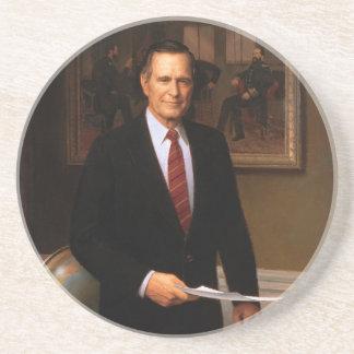 George Bush Beverage Coasters