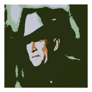 George Bush/Cowboy Poster