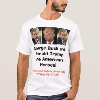 George Bush est un héros américain ! , Il s'est T-shirt