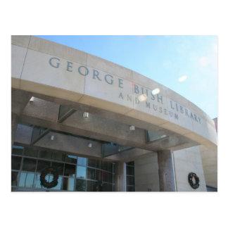 George Bush Library Postcard