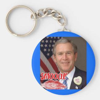 George Bush Valentine s Day Keychains