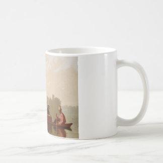 George Caleb Bingham - Fur Traders Descending Coffee Mug