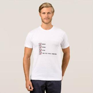 George Demetri CUBISM Can Fix Your Computer T-Shirt