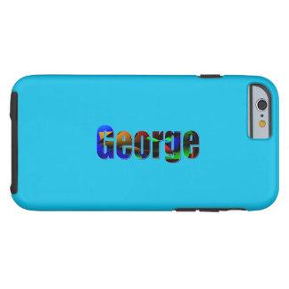 George Design in Blue iPhone case