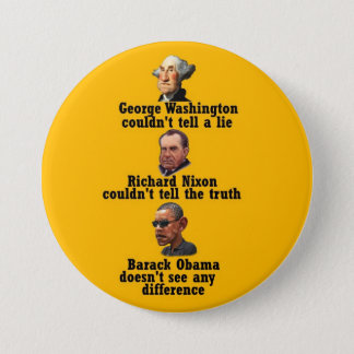 George, Dick & Big Brother 3 Inch Round Button