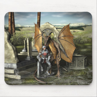 George & Dragon (Mouse Pads) Mouse Pad