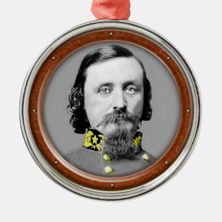 George Edward Pickett Metal Ornament