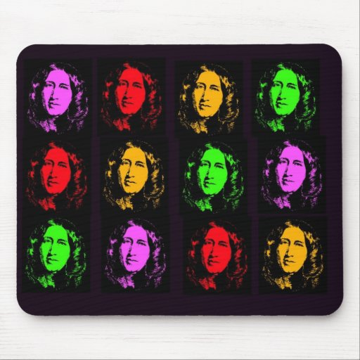 George Eliot Collage Mouse Pad