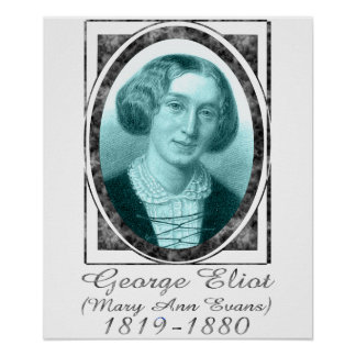 George Eliot Poster