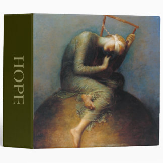 George Frederic Watts: Hope 3 Ring Binder
