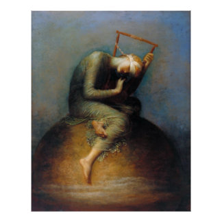 George Frederic Watts: Hope Poster