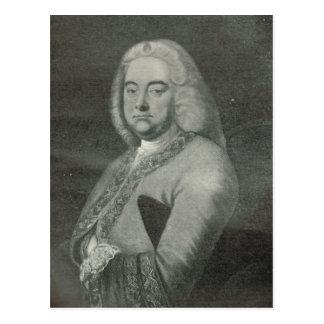 George Frederick Handel Postcard