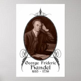 George Frideric Handel Poster