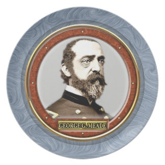 George Gordon Meade Party Plate