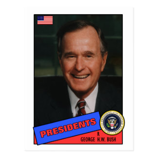George H.W. Bush Baseball Card