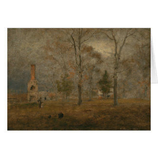 George Inness - Gray Day, Goochland Card