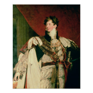 George IV Poster