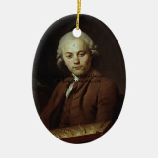 George Joseph (Abbe) Vogler Ceramic Ornament