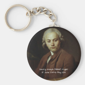 George Joseph (Abbe) Vogler Keychain