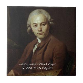 George Joseph (Abbe) Vogler Tile