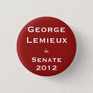 George Lemieux for Senate 1 Inch Round Button