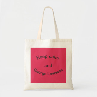 George Lovelace Tote Bag