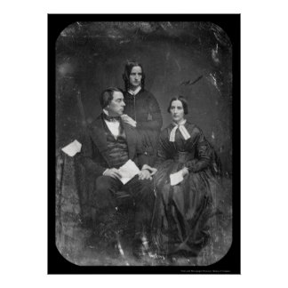George Marsh Family Daguerreotype 1845 Poster