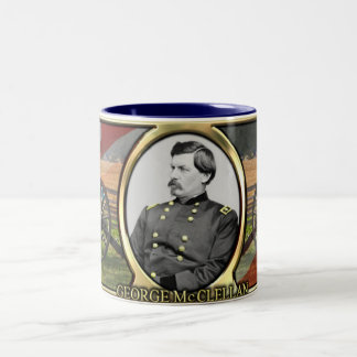 George McClellan Civil War Mug