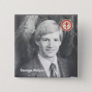 George Nelson 2 Inch Square Button