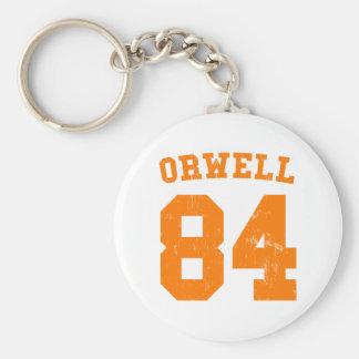 George Orwell 1984 Jersey Keychain