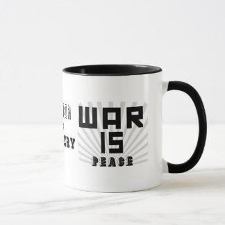 George Orwell 1984 Slogan Mug
