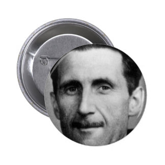 george orwell 2 inch round button