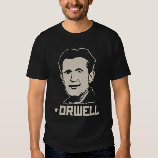 George Orwell 84 1984 jersey Tee Shirts