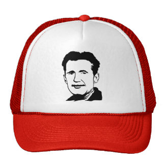 George Orwell Portrait Hat