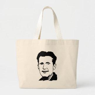 George Orwell Portrait Tote Bag