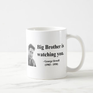 George Orwell Quote 5b Coffee Mug