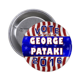 George Pataki President 2016 Election Republican 2 Inch Round Button