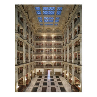 George Peabody Library Postcard