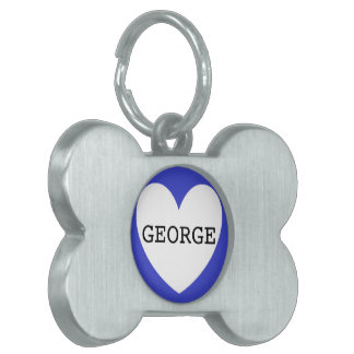 ❤️  GEORGE pet tag by DAL