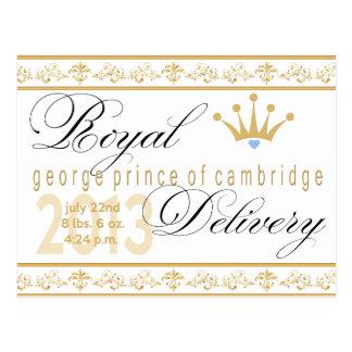 George Prince of Cambridge Souvenir Post Card