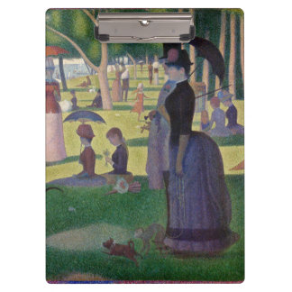 GEORGE SEURAT - A  sunday afternoon 1884 Clipboard